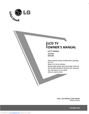 lg 15ls1ra owner s manual pdf download rh manualslib com LG Phone Manuals User Guides LG Instruction Manual