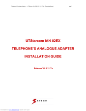 UTStarcom IAN-02EX Installation Manual