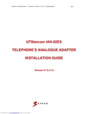 UTStarcom IAN-02EX Installation Manual