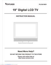 venturer plv36199s1 manuals rh manualslib com Venturer TV Remote Control venturer tv dvd combo manual
