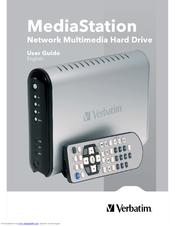 verbatim mediastation network multimedia hard drive manuals rh manualslib com 1TB External Hard Drive 1TB External Hard Drive