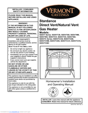 vermont castings sddvt series manuals we have 1 vermont castings sddvt series manual available for pdf homeowner s installation and operating manual