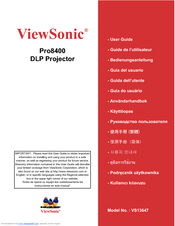 ViewSonic VS13647 User Manual