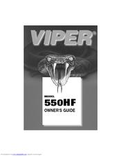 Viper 550HF Owner's Manual