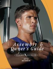 Vision Fitness Multi-Station Gym ST710 Owner's Manual