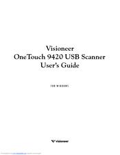 visioneer 9420usr manuals rh manualslib com Sony Digital Camera Manual PowerShot Camera Manual