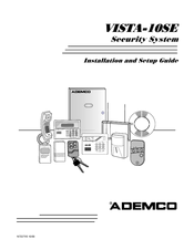 ademco security system vista 10se manuals rh manualslib com Ademco Vista 10SE 6127 6128 Ademco Vista 10Se Control Panel
