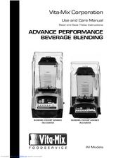 vita mix on counter blending station advance manuals rh manualslib com Vitamix 500 Parts Vitamix Cover