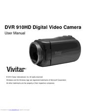 vivitar dvr 910hd user manual pdf download rh manualslib com Vivitar DVR 430 HD Battery Vivitar Camcorder DVD