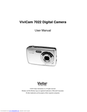 vivitar vivicam 7022 user manual pdf download rh manualslib com Vivitar DVR 410 Manual Vivitar Digital Camera