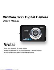 Vivitar vivicam 8225 user manual.