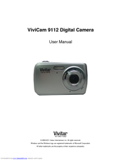 vivitar vivicam 9126 manuals rh manualslib com Vivitar Camera Manual vivitar vivicam 7022 user manual