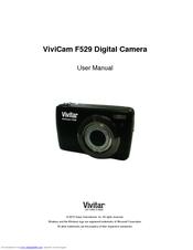 vivitar vivicam f529 user manual pdf download rh manualslib com Vivitar Camera Vivitar Digital Camera Manual