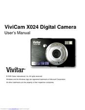 vivitar vivicam x024 manuals rh manualslib com Vivitar F529 Manual Vivitar ViviCam 9112 User Manual