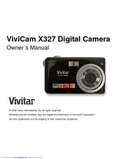 vivitar vivicam x327 manuals rh manualslib com Vivitar Instruction Manuals Vivitar 250SL