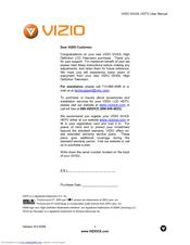 vizio gv42l user manual pdf download rh manualslib com Vizio 1080P Manual Vizio Repair Manuals