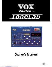 vox valvetronix tonelab manuals rh manualslib com vox tonelab user manual Vox Tonelab Desktop Model