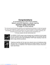 vtech cs5121 2 user manual pdf download rh manualslib com vtech phone model cs5121-2 manual vtech cs5121-2 manual