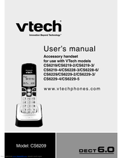 vtech cs6229 2 manuals rh manualslib com vtech cs6229-5 user manual vtech cs6229-2 user manual