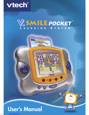 vtech v smile pocket original manuals rh manualslib com vtech vsmile pocket instruction manual vtech vsmile pocket instruction manual
