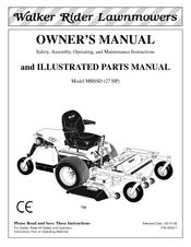 walker mbssd 27 hp owner s manual pdf