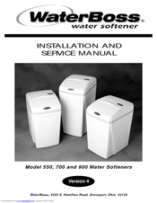 Water Boss 550 Installation And Service Manual