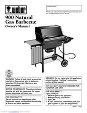 Weber Summit S  Natural Gas Manual