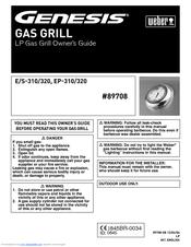 weber genesis e s 310 320 owner s manual pdf download rh manualslib com weber genesis e-310 user manual weber spirit e-310 manual