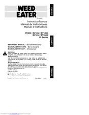 Weed eater operators manual bv1650/bv1800/bv1850/bv2000   ebay.