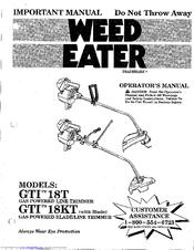 weed eater gti18kt manuals rh manualslib com weed eater gti 15t manual weed eater gti 17t manual