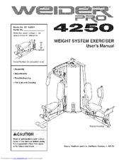 weider pro 4250 manuals rh manualslib com Example User Guide Example User Guide