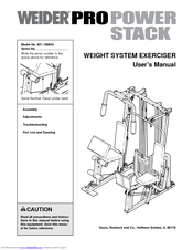 weider pro power stack manuals rh manualslib com Weider Pro Power Stack Workouts weider pro power stack assembly instructions