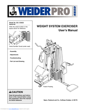 Before you begin | weider pro 4850 831. 153932 user manual | page 4.