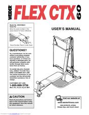 Weider Flex Ctx 60 Manuals