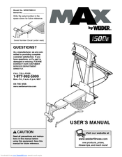Weider crossbow exercise chart download.