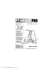 weider pro 9925 manuals rh manualslib com Word Manual Guide Quick Reference Guide