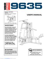 Weider Pro 9635 User Manual