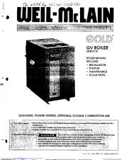 Weil-mclain Gold Series 2 Manuals
