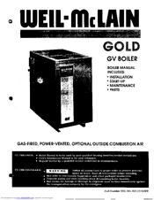 Weil-mclain Gold GV-5 Manuals