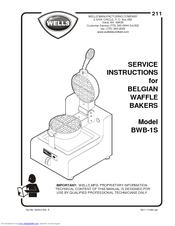 Wells BWB-1S Manuals on