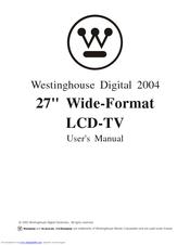 WESTINGHOUSE LCD-TV USER MANUAL Pdf Download