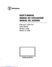 westinghouse lvm 47w1 manuals rh manualslib com westinghouse user manual white westinghouse user manual