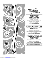 Whirlpool Whispure Whispure Air Purifier Use & Care Manual