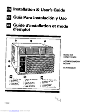 Whirlpool AR1800XA0 Installation & User Manual