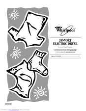 Whirlpool 8565592B Use And Care Manual