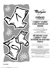 Whirlpool Cabrio W10150627A Use & Care Manual