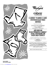 Whirlpool Cabrio W10151492B Use & Care Manual