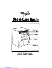 Whirlpool LDR3422A Use And Care Manual