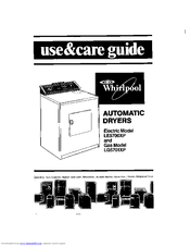 Whirlpool LE5700XP Use & Care Manual