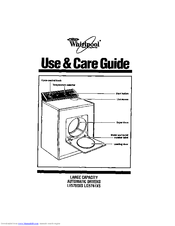 Whirlpool LE5761XS Use And Care Manual